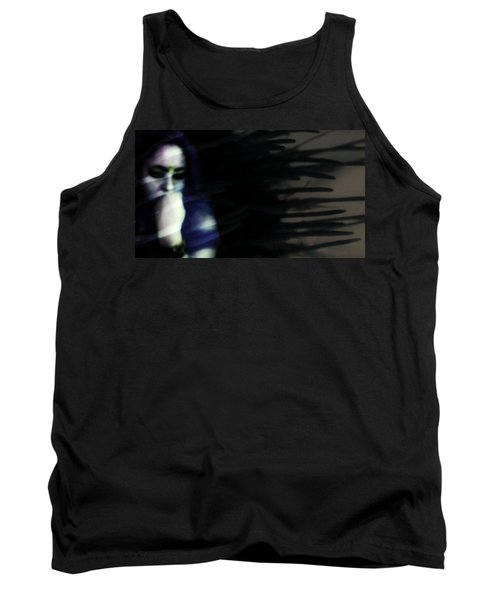 Tank Top featuring the photograph In The Shadows Of Doubt  by Jessica Shelton
