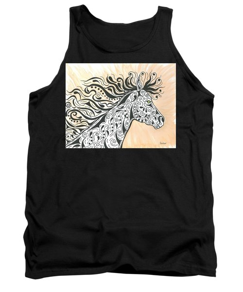 Tank Top featuring the painting In The Wind by Susie WEBER
