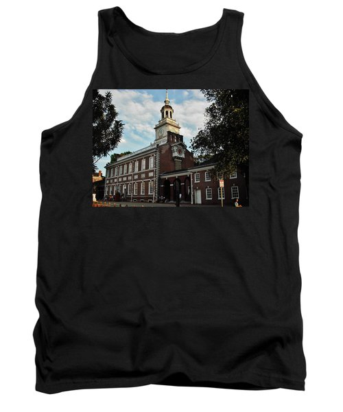 Independence Hall Tank Top by Ed Sweeney
