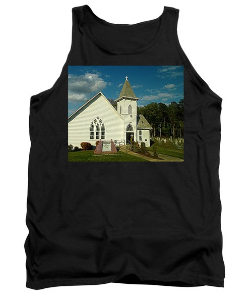 Indian Mission United Methodist Church Harbeson Delaware Tank Top