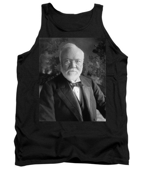 Industrialist Andrew Carnegie Tank Top