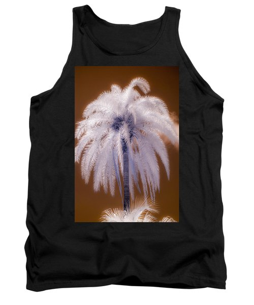 Infrared Palm Tree Tank Top