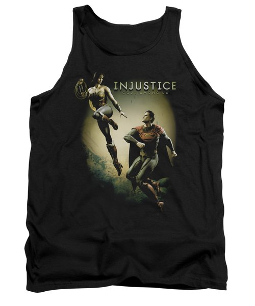 Injustice Gods Among Us - Battle Of The Gods Tank Top