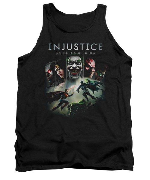 Injustice Gods Among Us - Key Art Tank Top