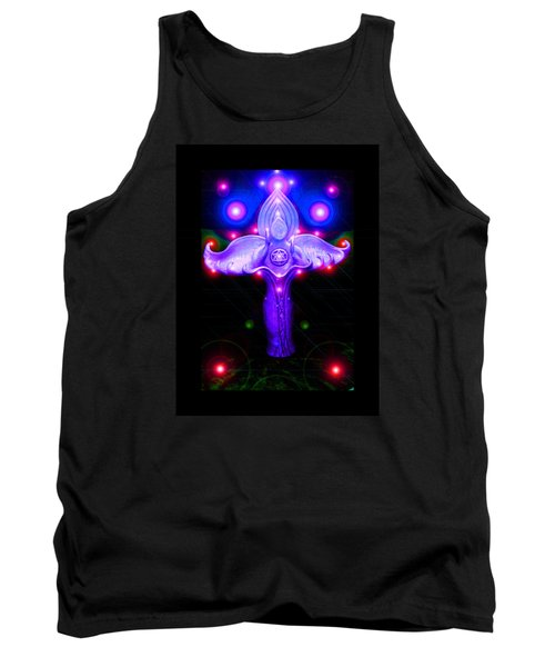Tank Top featuring the photograph Inner Galactic Symphonics by Susanne Still
