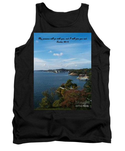 Inspirations 6 Tank Top by Sara  Raber