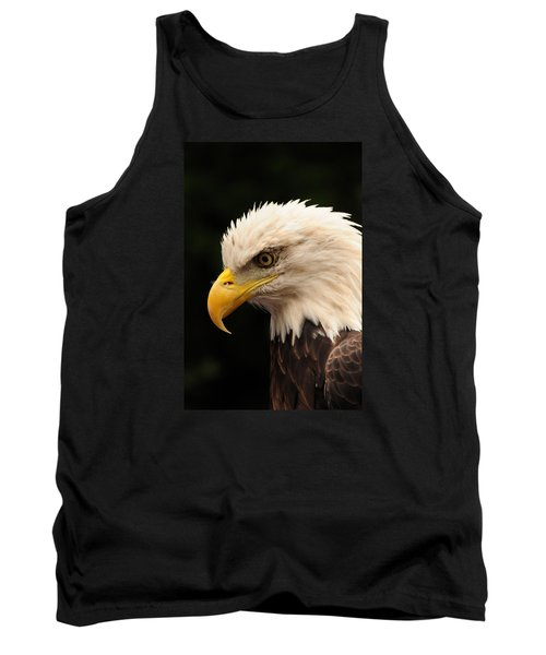 Intense Stare Tank Top by Mike Martin
