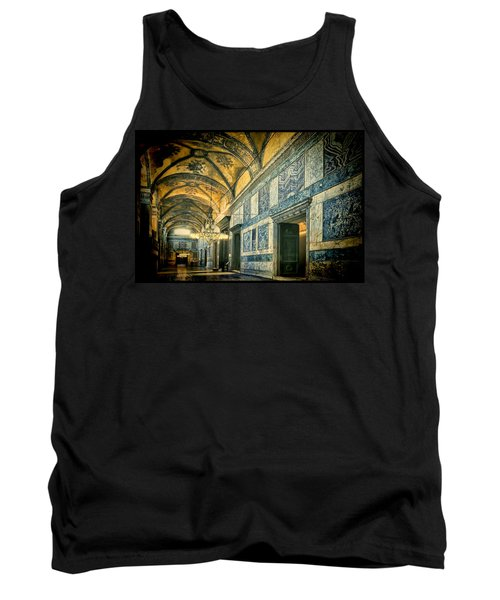 Tank Top featuring the photograph Interior Narthex by Joan Carroll