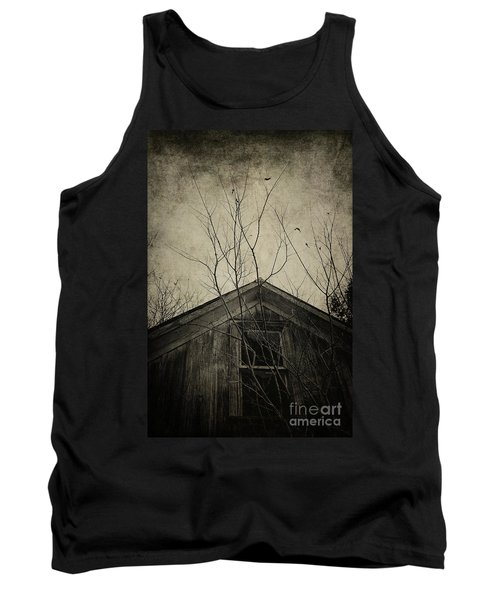 Into The Dark Past Tank Top by Trish Mistric
