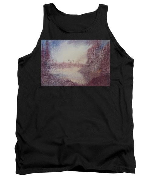 Into The Storm Tank Top by Richard Faulkner