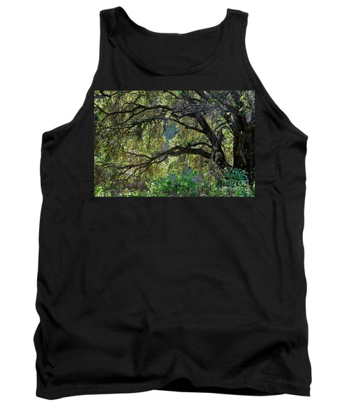 Tank Top featuring the photograph Into The Woods by Susan Wiedmann