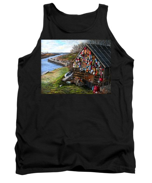 Ipswich Bay Wooden Buoys Tank Top