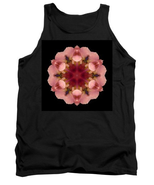 Iris Germanica Flower Mandala Tank Top