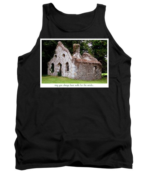 Irish Blessing Tank Top by Charlie and Norma Brock