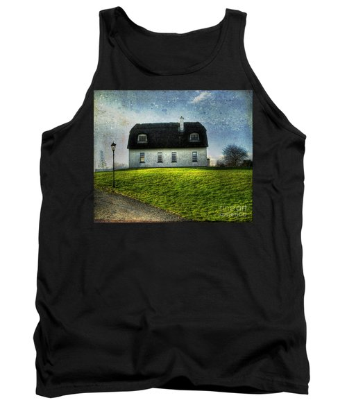 Irish Thatched Roofed Home Tank Top by Juli Scalzi