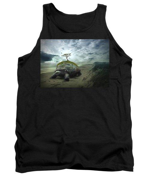Iroquois Creation Story Tank Top