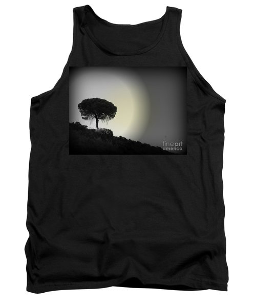 Isolation Tree Tank Top by Clare Bevan