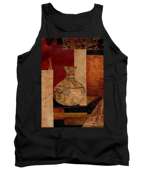 Italian Urn Collage Tank Top by Patricia Cleasby