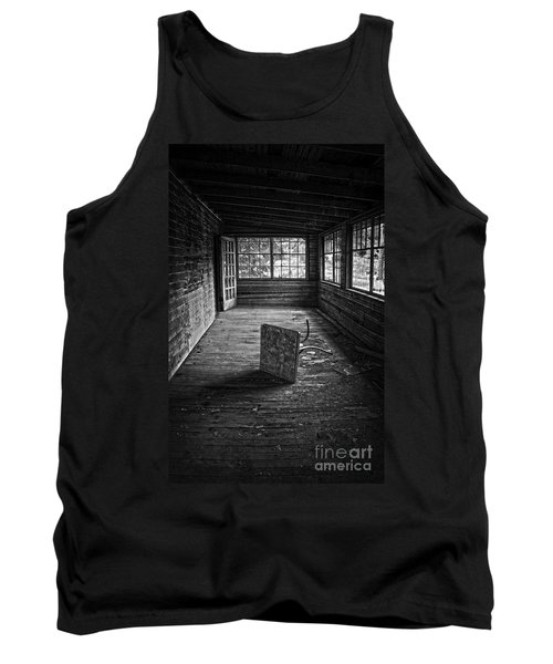 Tank Top featuring the photograph It's Empty Now by Debra Fedchin
