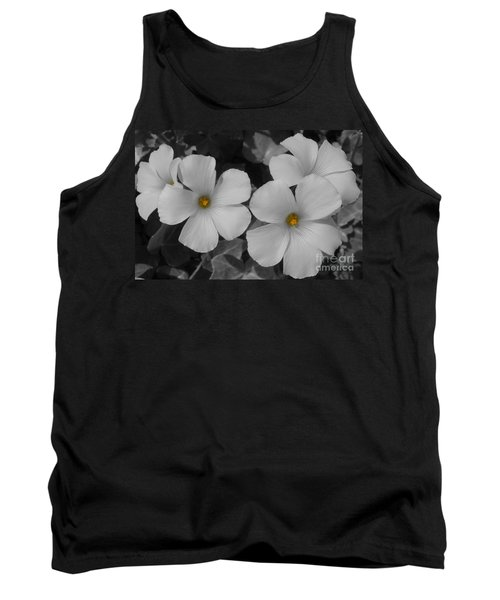 Its Not All Black And White Tank Top by Janice Westerberg