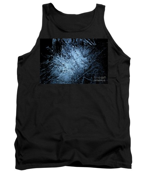Tank Top featuring the photograph jammer Frozen Cosmos by First Star Art