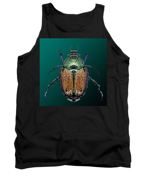 Japanese Beetle Bedazzled II Tank Top