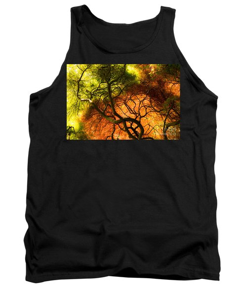 Japanese Maples Tank Top by Angela DeFrias