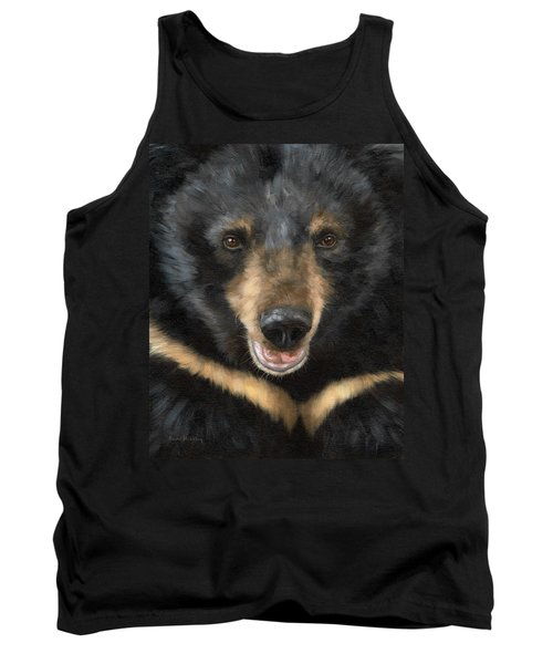 Jasper Moon Bear - In Support Of Animals Asia Tank Top by Rachel Stribbling