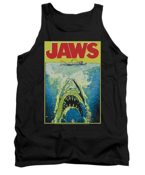 Jaws - Bright Jaws Tank Top by Brand A