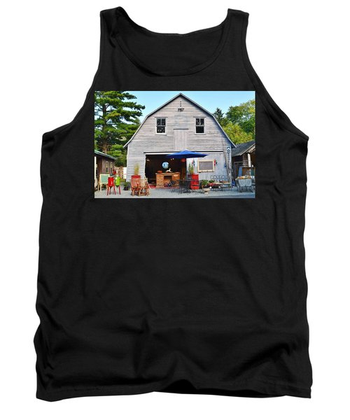The Old Barn At Jaynes Reliable Antiques And Vintage Tank Top