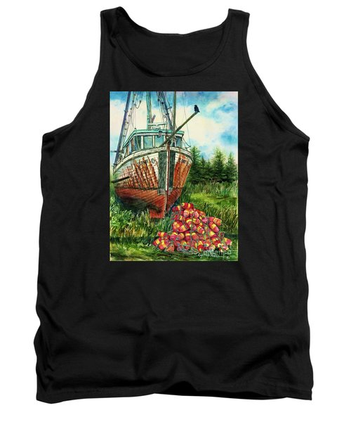 Jeanie O And The Crow Tank Top