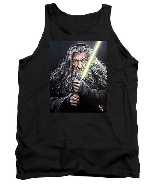 Jedi Master Gandalf Tank Top