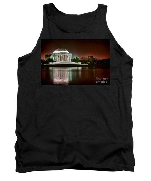 Jefferson Memorial At Night Tank Top