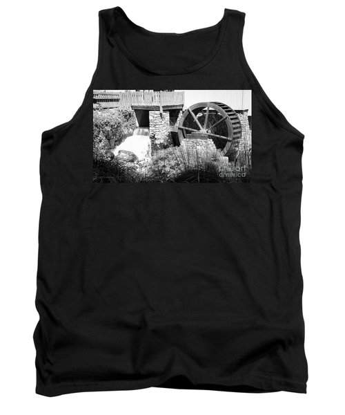 Jenney Mill In Black And White Tank Top