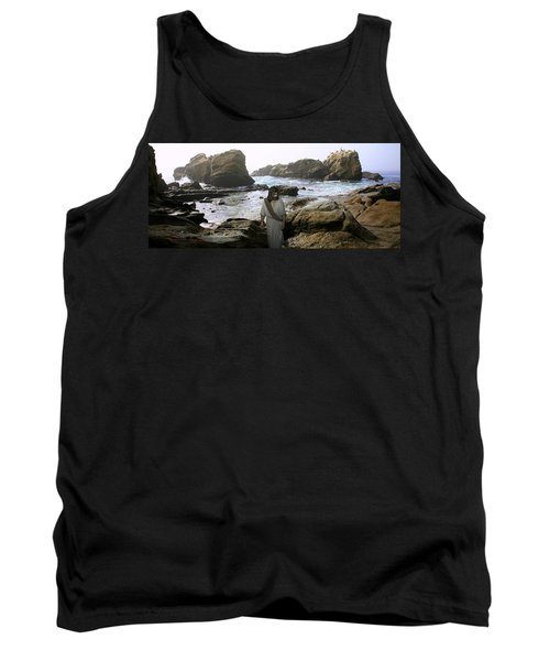 Jesus Christ- In The Company Of Angels Tank Top