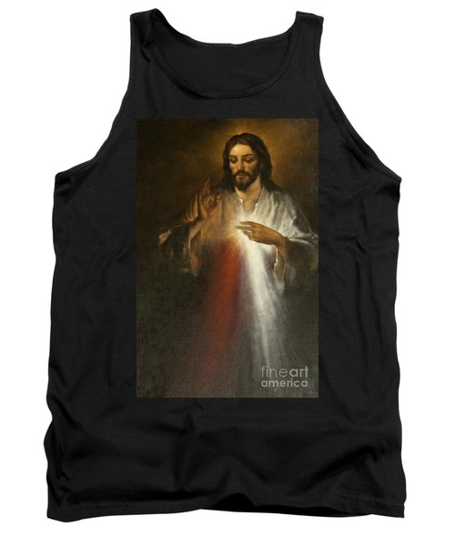 Jesus Of Divine Mercy Tank Top