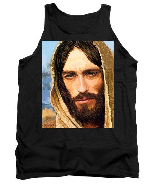 Jesus Of Nazareth Portrait Tank Top