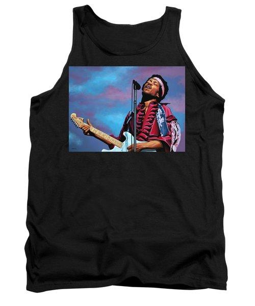 Jimi Hendrix 2 Tank Top