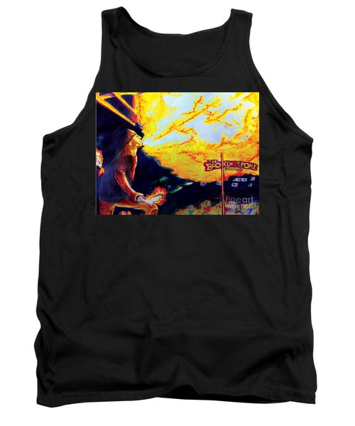 Joe At The Broken Spoke Saloon Tank Top