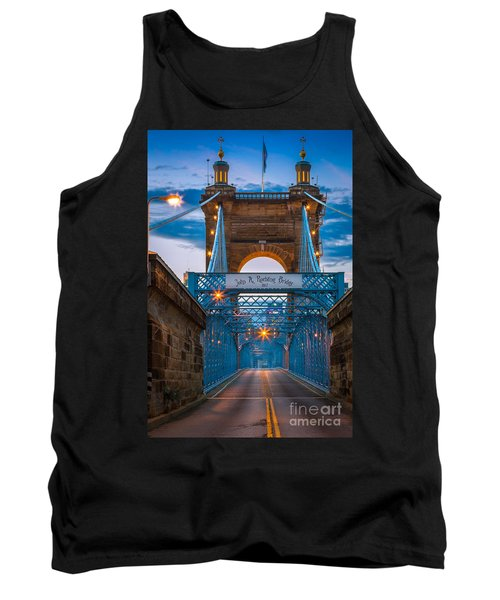 John A. Roebling Suspension Bridge Tank Top