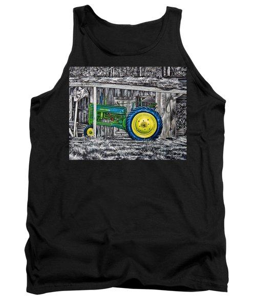 John Deere Green Tank Top