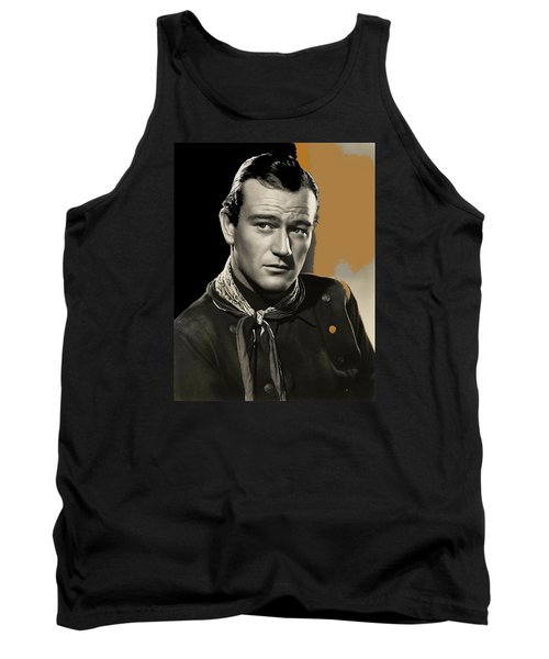 John Wayne  Publicity Photo In Costume Stagecoach 1939-2009 Tank Top by David Lee Guss