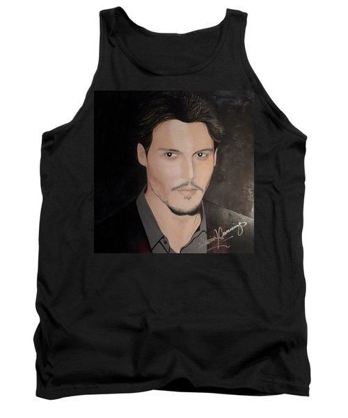 Johnny Depp - The Actor Tank Top