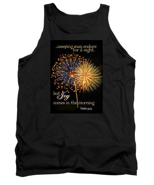 Tank Top featuring the photograph Joy In The Morning by Larry Bishop