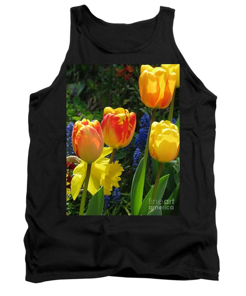 Tank Top featuring the photograph Jubilance by Rory Sagner