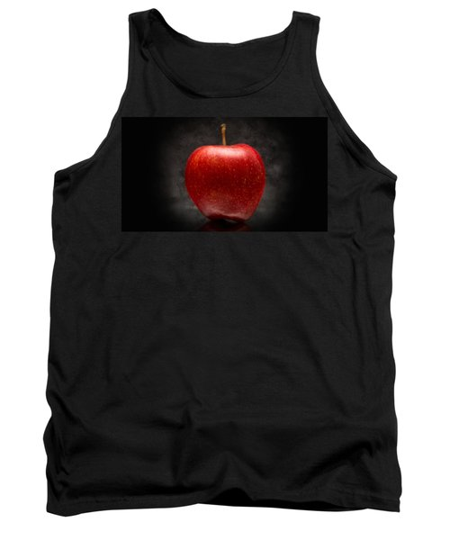 Tank Top featuring the photograph Juicy Red Apple by Aaron Berg