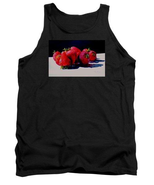 Juicy Strawberries Tank Top by Sher Nasser