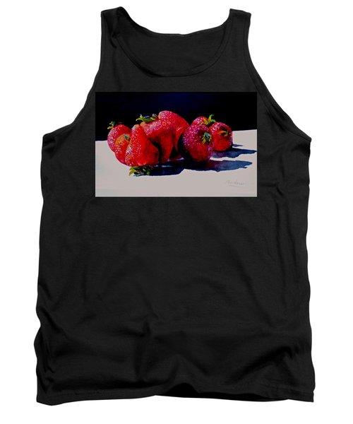 Juicy Strawberries Tank Top