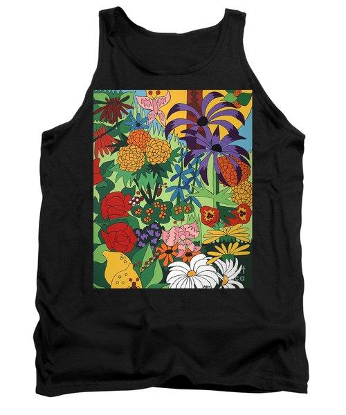 July Garden Tank Top