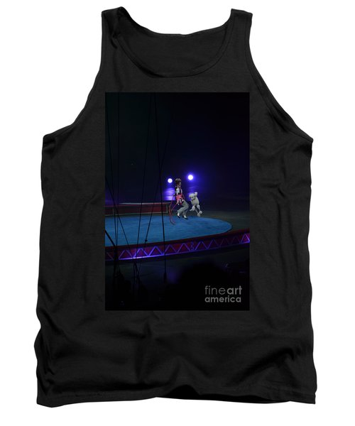 Tank Top featuring the photograph Jumprope With Fido by Robert Meanor